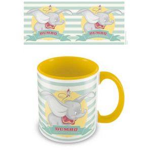 Pyramid International Disney - Coloured Inner Mug - Dumbo (the Flying Elephant) Yellow [Produit Derive]