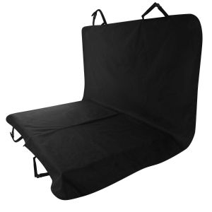 Navaris Housse de siège Chien - Couverture de Protection Banquette Voiture - Tapis Couvre sièges Lavable antidérapant - Noir