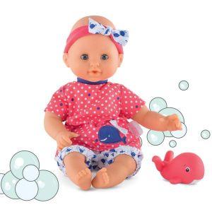 Corolle Poupon bébé bain fille