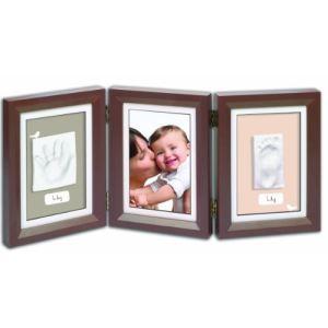 Baby Art Cadre photo Double Print Frame avec empreinte