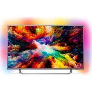 Philips 55PUS7303 - Téléviseur ultra-plat 4K 139 cm avec Android TV