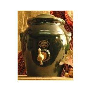Digoin ceramique Pot à vinaigre en grès avec robinet (4 L)