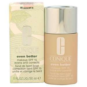 Clinique Even better 05 Neutral - Fond de teint éclat correction teint SPF 15 unifie et corrige le teint