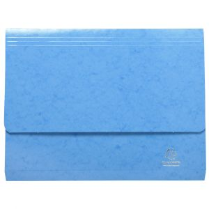 Exacompta 6527Z - Chemise poche IDERAMA, coloris bleu clair