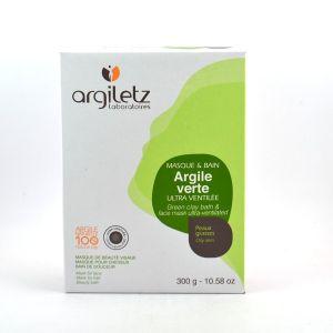 Argiletz Argile verte - Masque de beauté visage, cheveux et bain de douceur