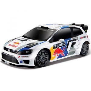 Bburago Voiture radiocommandée Echelle 1/24 : Volkswagen Polo WRC Red Bull