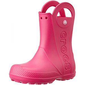 Crocs Handle It,Bottes de Pluie,Mixte Enfant,Rose (Candy Pink), 30/31 EU