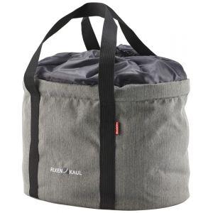Klickfix Shopper Pro - Sac porte-bagages - gris Sacoches pour guidon