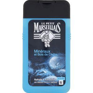 Le Petit Marseillais Gel douche minéraux et bois de cèdre - Le flacon de 250ml