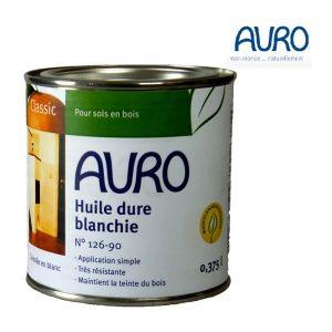 Auro Huile dure blanchie, pigmentation blanche n°126-90 - Pot de 0,375L