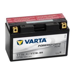 Varta Batterie Moto YT7B-4, YT7B-BS 12V 7AH 120A