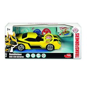 Dickie Toys Transformers Mini Con Deployer Bumblebee