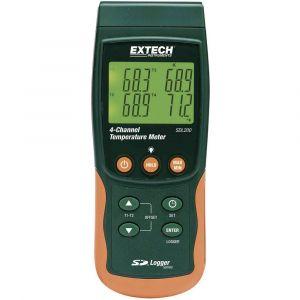 Extech Appareil de mesure de température SDL200 -199 à +1700 °C Type de