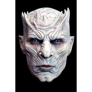 Masque Intégral en Latex Marcheur Blanc - Game Of Thrones ©