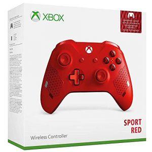 Microsoft Manette sans fil Xbox Edition Spéciale - Sport Red
