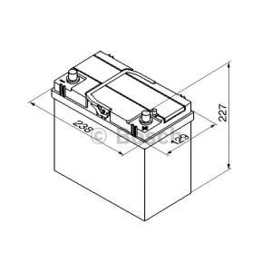 Bosch 0092S40210 - Batterie de démarrage
