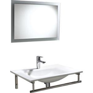 Plan à vasque Artus avec miroir et porte serviette