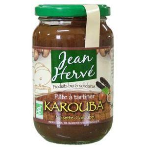 Jean Hervé Pâte à tartiner Karouba Noisette-Caroube Bio (340g)