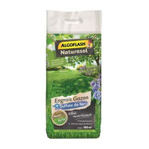 Algoflash Naturasol Engrais Gazon + Sulfate de Fer - 7,2kg