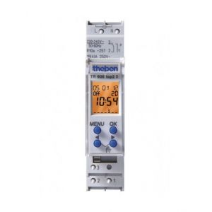 Theben Horloge programmable digitale TR 608 top2 S