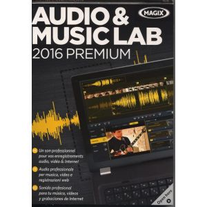 Audio & Music Lab 2016 Premium [Windows]