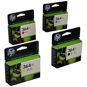 HP 364XL Cartouche d'encre d'origine Pack de 4 Noir Cyan Magenta Jaune