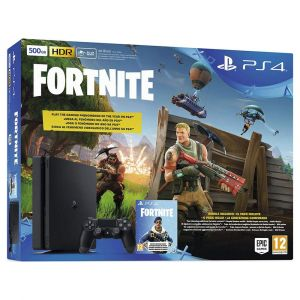 Sony PlayStation 4 (500 Go) Noir + Fortnite