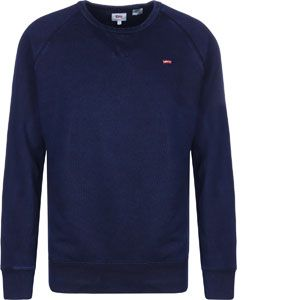 Levi's Original HM Icon Crew, Sweat-Shirt Homme, Bleu (Indigo 0000), Small