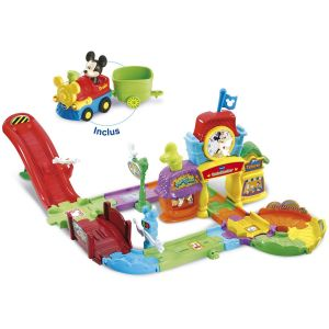 Vtech Tut Tut Bolides - Circuit train interactif de Mickey
