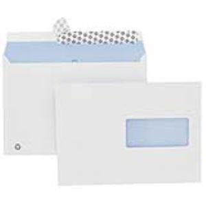 Majuscule 500 enveloppes M First 16,2 x 22,9 cm avec fenêtre 4,5 cm (90 g)