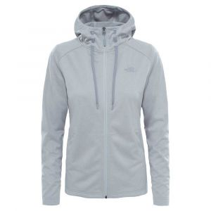 The North Face Polaires Tech Mezzaluna Hoodie - TNF Light Grey Heather - Taille L