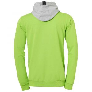 Kettler CORE 2.0 HOOD JACKET - Veste à capuche Handball - Doublure capuche - Poches latérales - vert espoir/gris foncé chiné