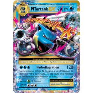 Asmodée Tortank - Carte Pokemon Xy12 Evolutions 22/108 Mega Ex rare
