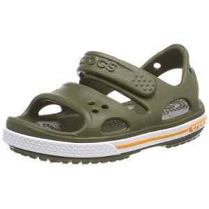 Crocs Crocband Ii Sandal, Sandales Bout Ouvert Mixte Enfant, Vert (Army Green 309) 25/26 EU