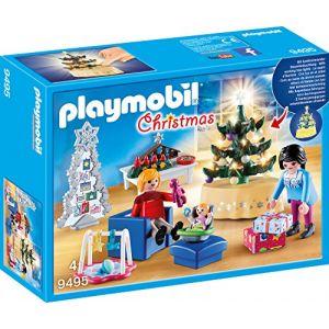 Playmobil 9495 Famille et salon de Noel