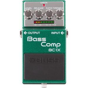 Boss Effect BC-1X - Pédale de compression pour basse