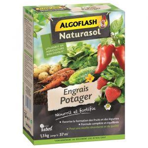 Algoflash Engrais potager 1,5 kg - Engrais complet granulés