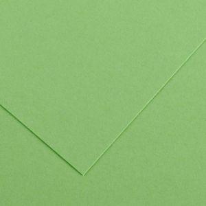 Canson 200040171 - Feuille Iris Vivaldi A4 185g/m², coloris vert pomme 27