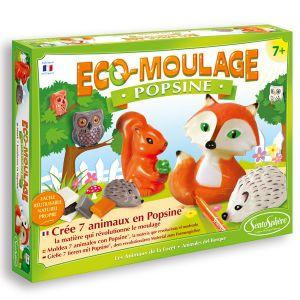 Sentosphère Eco-Moulage Popsine : Les animaux de la forêt