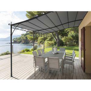 tonnelle adossee 4x4 comparer 60 offres. Black Bedroom Furniture Sets. Home Design Ideas