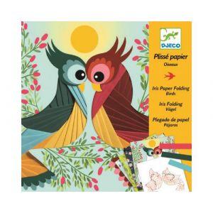 Djeco Plissé papier Oiseaux