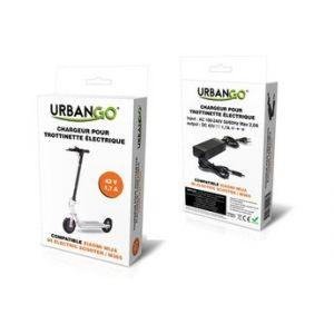 Urbango Chargeur pour trottinette électrique Xiaomi 42V 1,7A