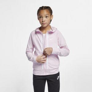 Nike Sweatà capuche entièrement zippé Sportswear pour Fille plus âgée - Rose - Taille L - Femme