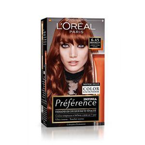 L'Oréal Préférence Infinia Reflets 6.45 Brooklyn - Auburn Cuivré Intense