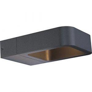 Globo Lampe d'extérieur KALYKE LED Gris, 1 lumière Design Extérieur KALYKE