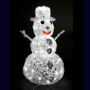 Féérie Lights & Christmas Bonhomme de neige 96 LED (65 cm)