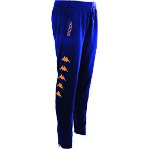 Kappa Pagino Pants - Blue Marine / Fluo Orange - Taille 14 Années
