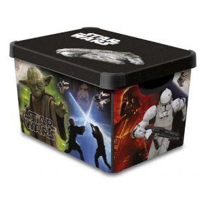 Curver 225229 - Boîte de rangement Star Wars (39 x 29 x 25 cm)
