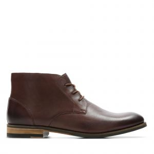 Clarks Boots FLOW TOP Marron - Taille 41,42,43,44,45,42 1/2,41 1/2,44 1/2