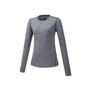 Mizuno Impulse Core LS W vêtement running femme Gris/argent - Taille S